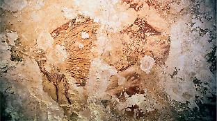Undated painting of a wild pig from a cave in Maros.