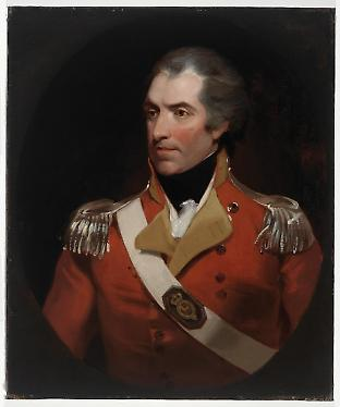 Colonel William Paterson's 1799 portrait. (Courtesy State Library of NSW, Call Number DG175)