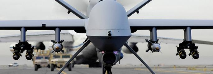 A fully armed MQ-9 Reaper drone