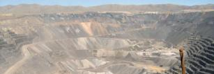 The enormous Goldstrike pit in Nevada