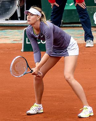 Maria Sharapova's 15-month suspension ends on 26 April. Many of her sponsors have maintained that she is an innocent victim of a flawed anti-doping system. Credit: Yann Caradec CC BY-SA 2.0