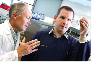 Prof Gregory Cook (left) and Dr Chris Greening (right)