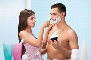 Feminine and clean-shaven faces are considered most attractive.