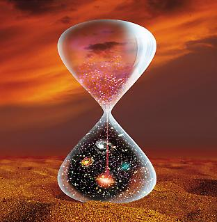 The universe in an hourglass